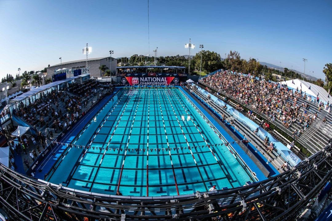 USA Swimming BOD Approves 4 Sites for 2019 Futures Championships
