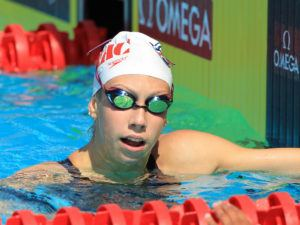 Gretchen Walsh Extends Lead as Fastest 15-Year Old 100y Freestyler