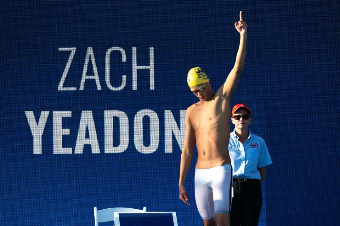 All-American Zach Yeadon Heads to Cal for Final Year of NCAA Eligibility