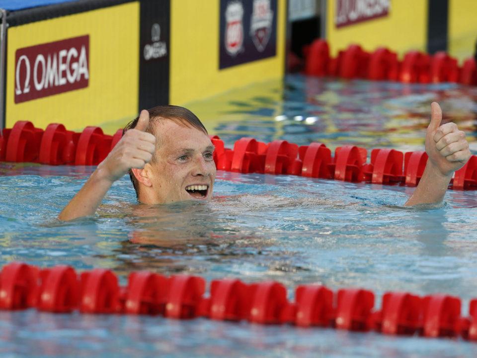 Age Groupers, Triathletes, and Zane Grothe Complete Poseidon Swim Challenge