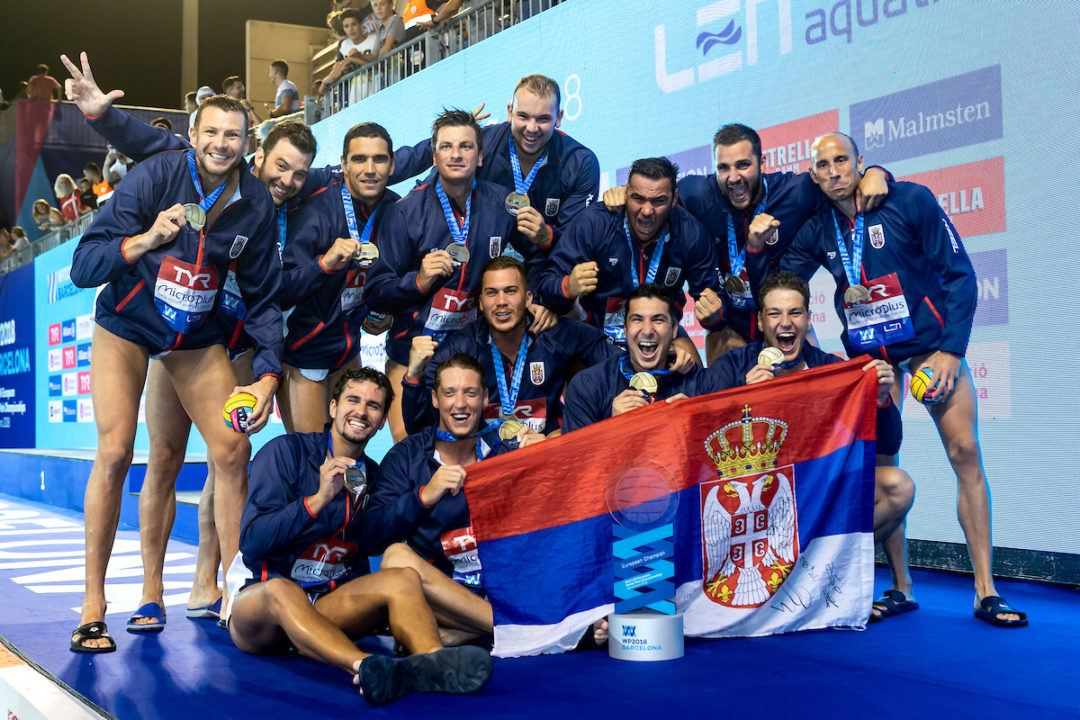 Serbia Edges Croatia 12-11 for Men's Water Polo Super Final Title