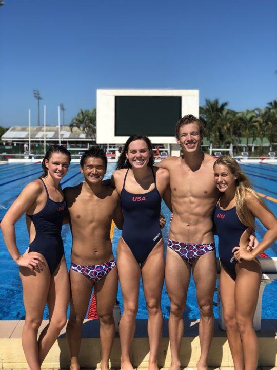 USA Names 2018 Jr. Pan Pacs Team Captains