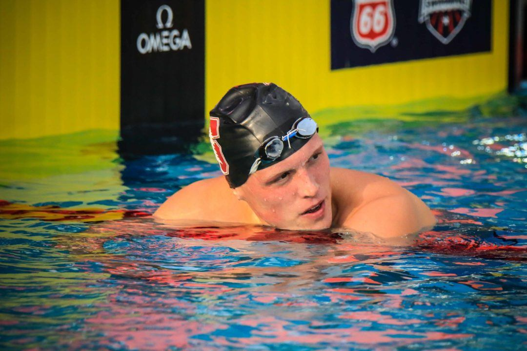 2019 NCAA M. Previews: DeVine Could Challenge American Record In 400 IM