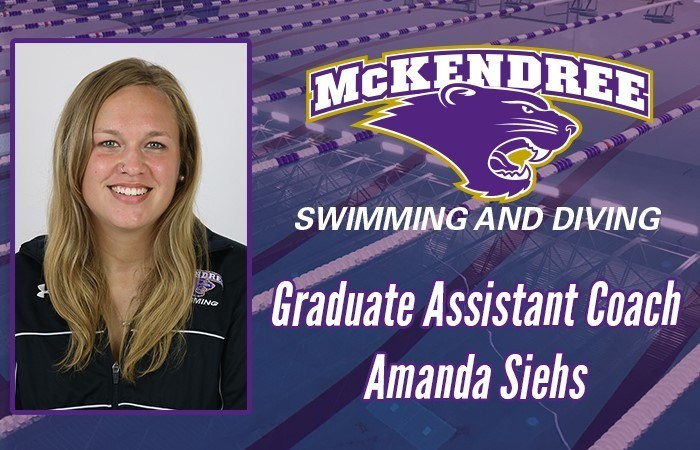 Amanda Siehs Joins McKendree as Graduate Assistant
