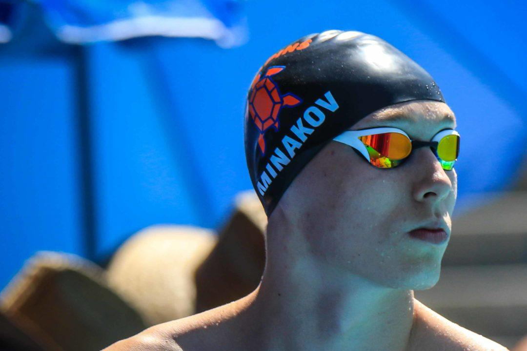 2019 Swammy Awards: Male Breakout Swimmer of the Year Andrei Minakov