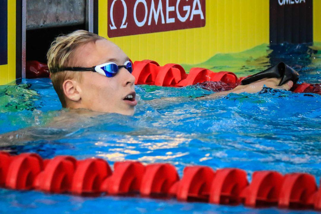 2020 Swammy Award: World Jr Male Swimmer of the Year – Andrei Minakov