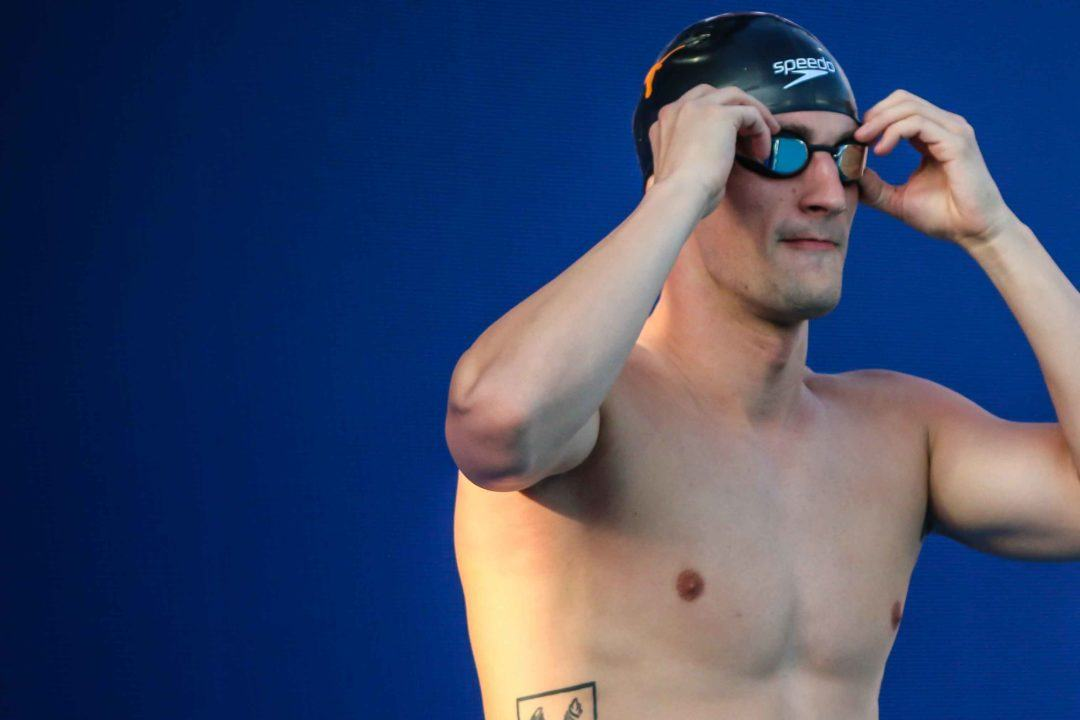Andrew Wilson No Shows 50 Breast Prelims At World Championships