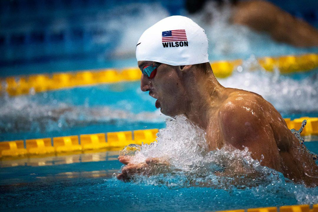 Andrew Wilson Produces 58.93 Lifetime Best 100 Breast At Singapore World Cup