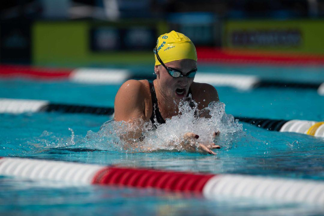 2019 PSS – Knoxville: Lazor Drops 2:23.51 Lifetime Best in 200 Breast