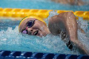 Titmus es baja de las concentraciones de Swimming Australia debido a lesión