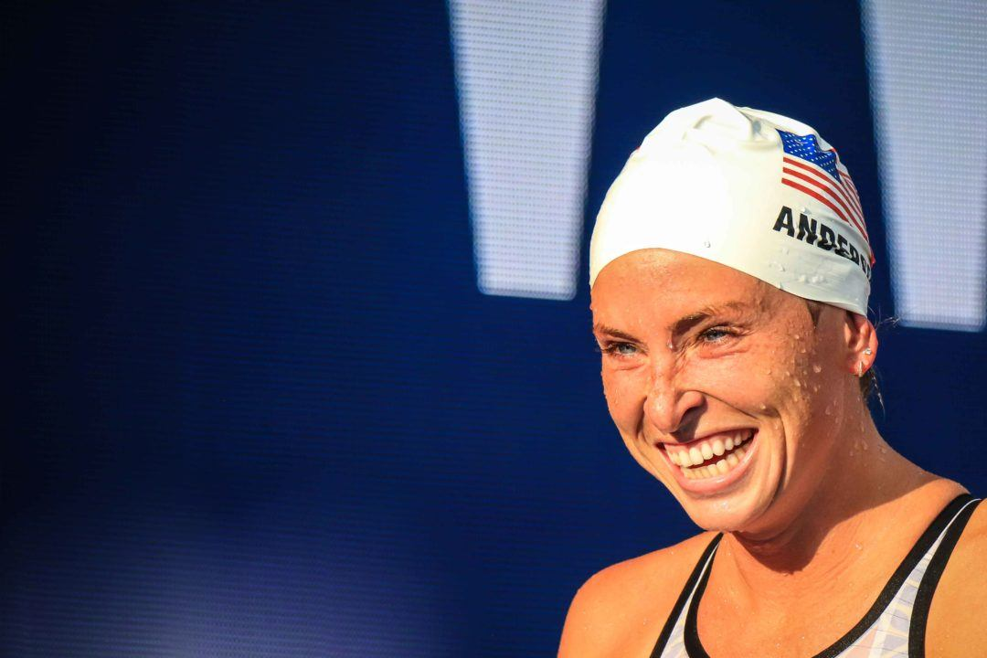 U.S. National Team Tracker: Anderson and Twichell Tied for 6th in W. 400 Free
