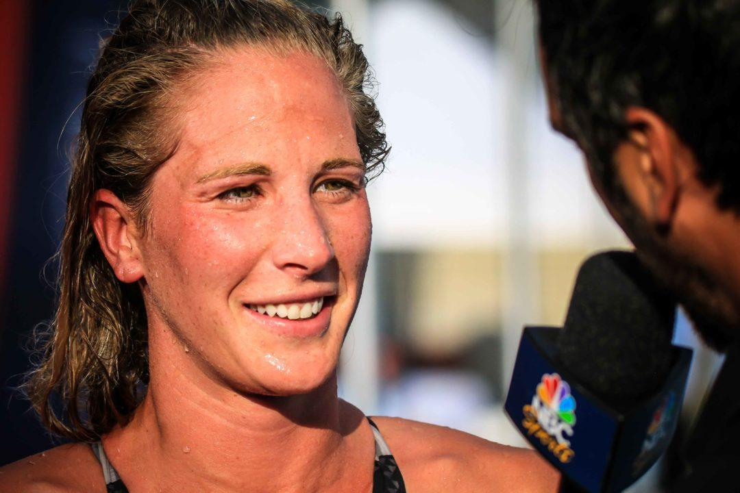Ashley Twichell has Trained Roughly 27K in the Last 2 Days (Video)