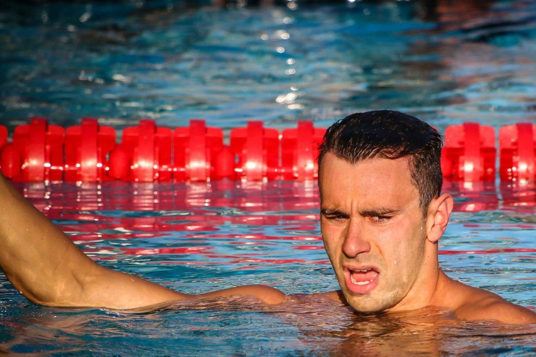 Blake Pieroni Was Surprised by his 200 Free Time After How Much it Hurt (Video)