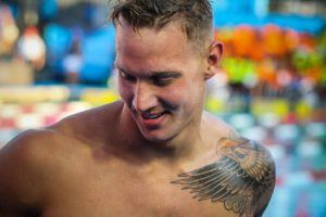 WATCH: Caeleb Dressel Swims Meet Record, World No. 4 100 Free in Atlanta, 47.86