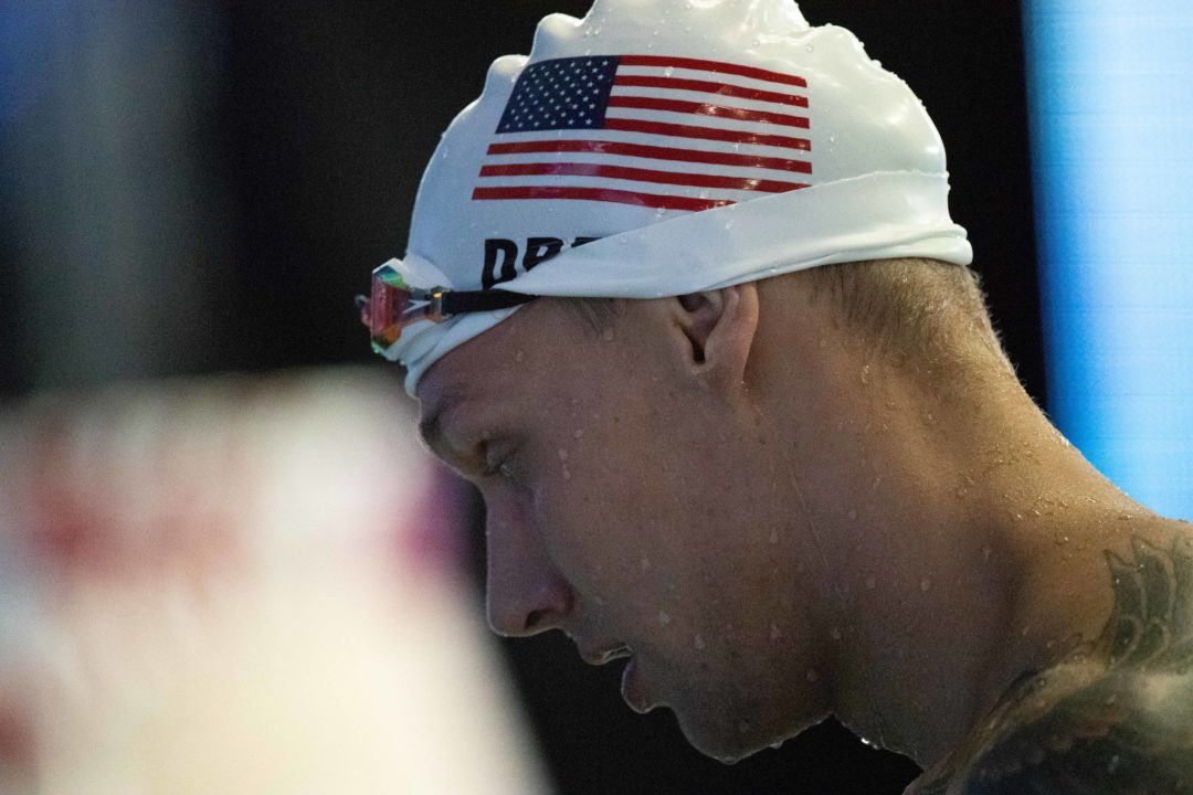 Caeleb Dressel Crashed Motorcycle In Late June, Nearly Missed Nats