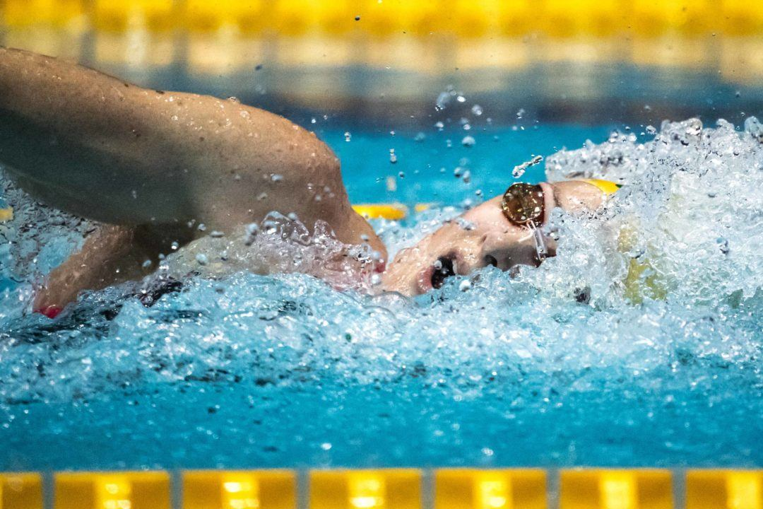 SwimSwam Pulse: 63% Pick Campbell's Split As Most Impressive