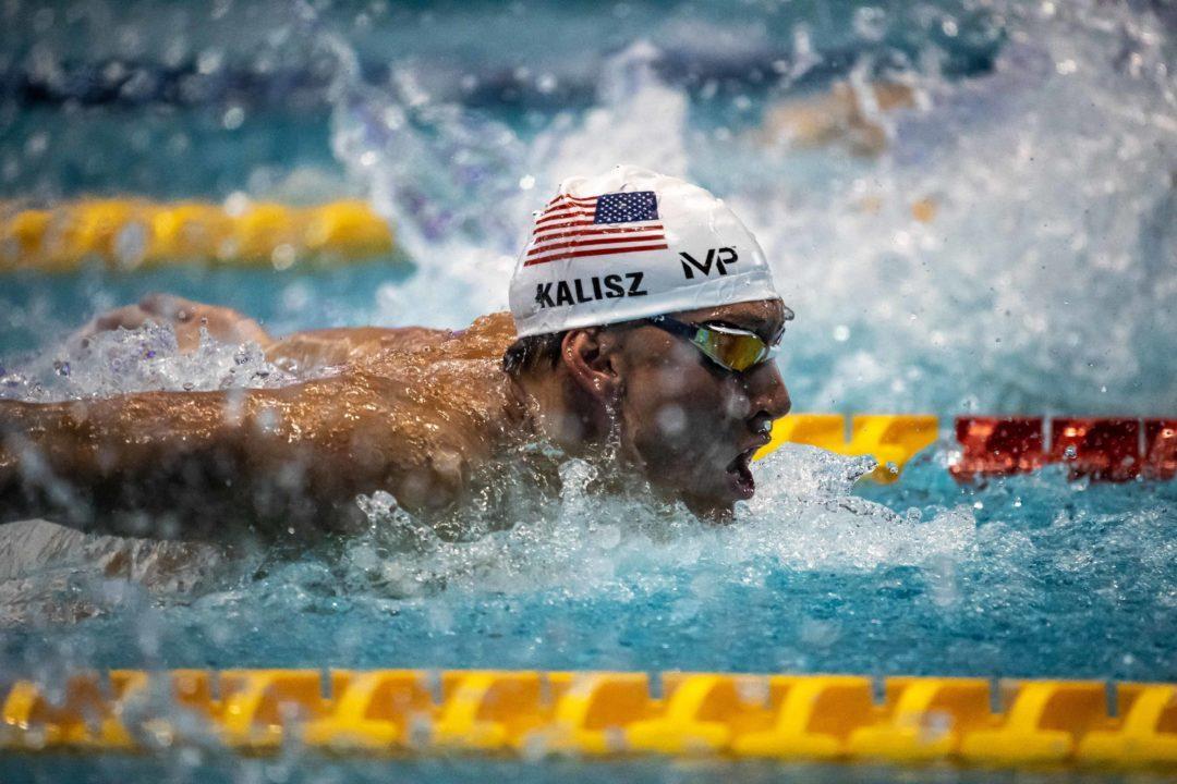 World Champ Chase Kalisz Signs With MP Swimwear