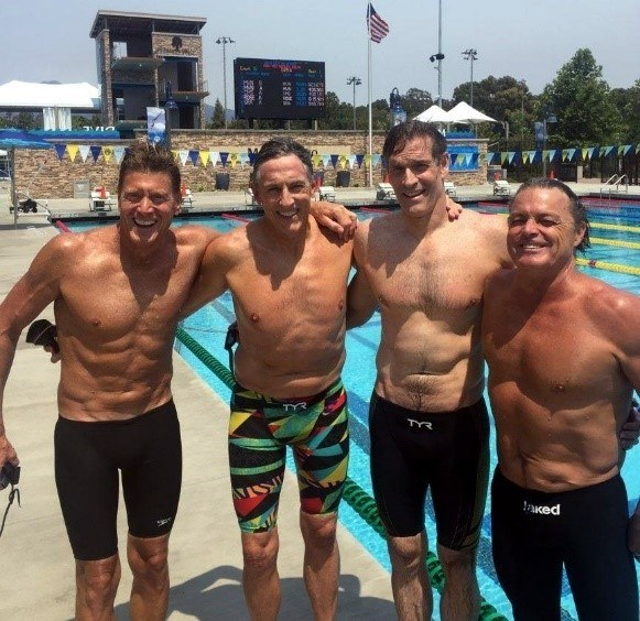 Quartet from Denver Sets 3 Masters Swimming Records