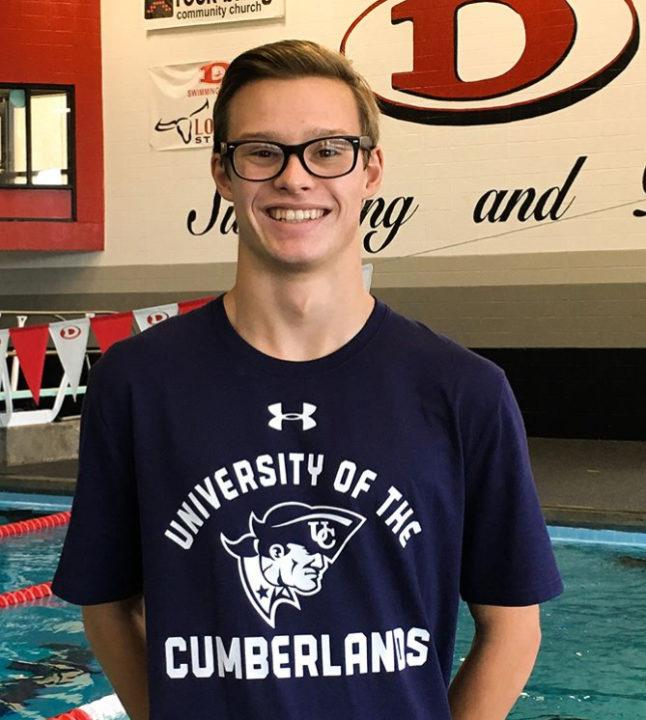GHSA 6A State Champion Alex Mashburn to Swim for Cumberlands