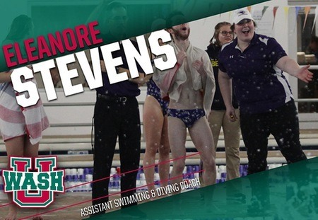 Eleanore Stevens Named Assistant Swim Coach at Wash U
