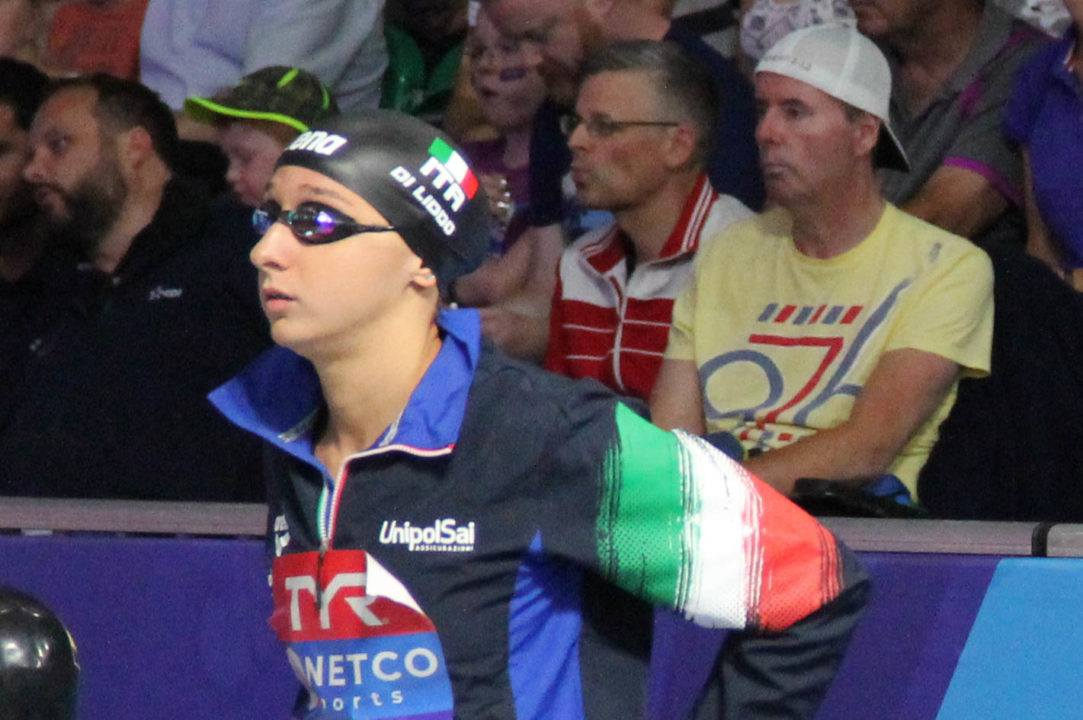 Elena Di Liddo Lowers 100 Fly Italian Record For 2nd Time Today