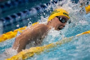 Winnington Posts 400 Free PB As Australia's 3rd Fastest Performer