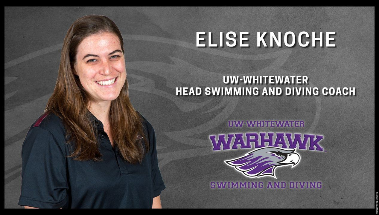 Wisconsin-Whitewater Tabs Elise Knoche as Head Coach