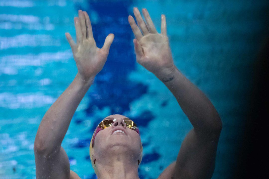 Seebohm Completes Backstroke Trifecta While McEvoy Eyes 50 Free Gold