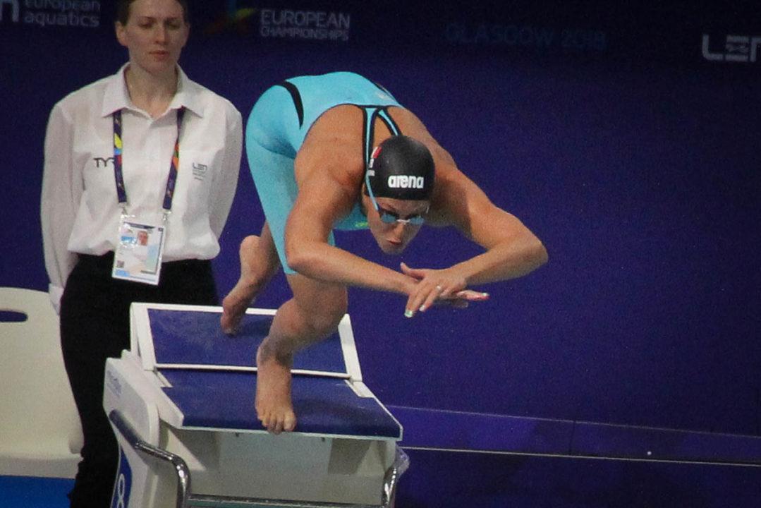 Federica Pellegrini Punta Verso La Sua Quinta Olimpiade
