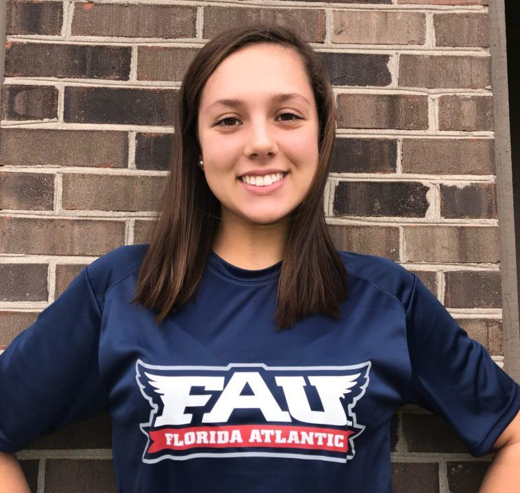 OHSAA D1 Finalist and YNats Finalist Hailee Trotter to Swim for FAU