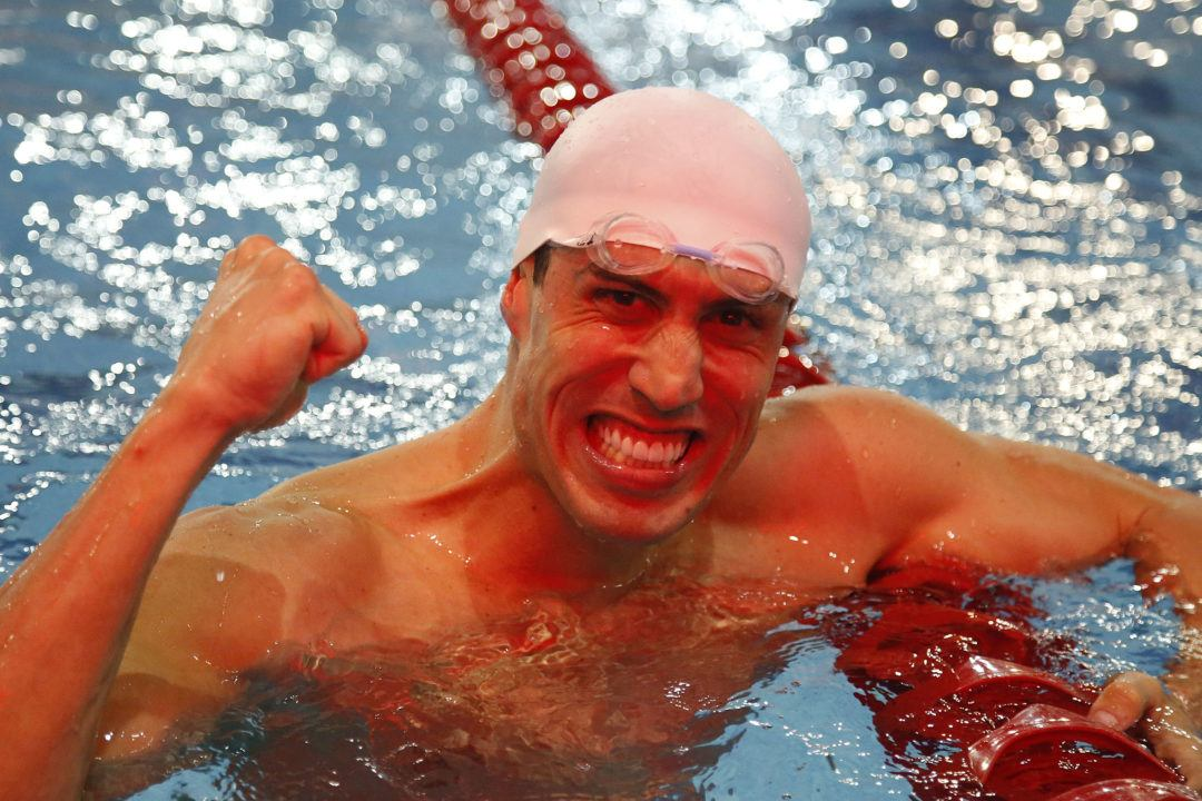 Guilherme Guido Swims #3 50 SCM Backstroke of All-Time at Jose Finkel