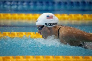 Flickinger Goes 2:09.0 In 200 Fly At Sun Devil Meet, #2 Among U.S. Women