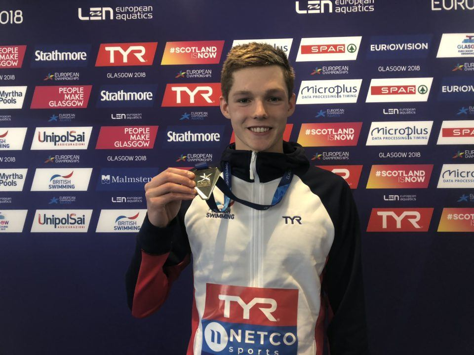Duncan Scott Takes Home British Swimmer Of The Year Award