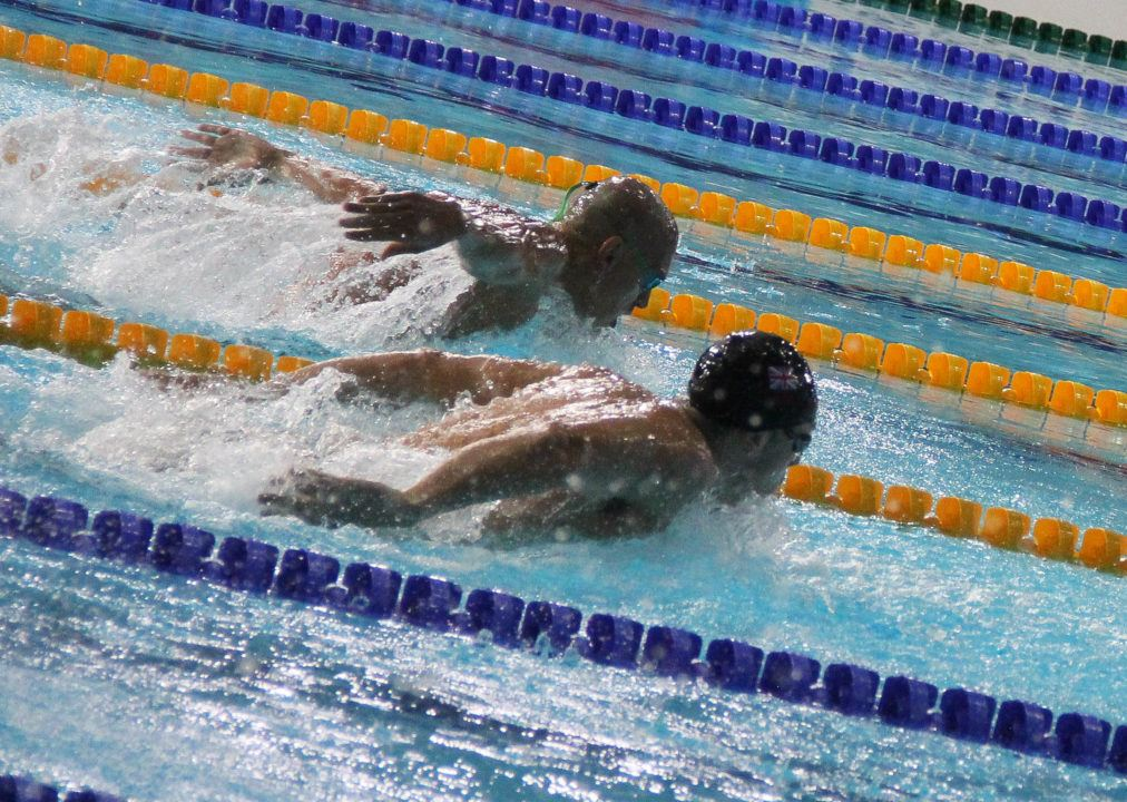 Bukhov's 23.14 50 Fly Silver In Luxembourg Sets New World Junior Record
