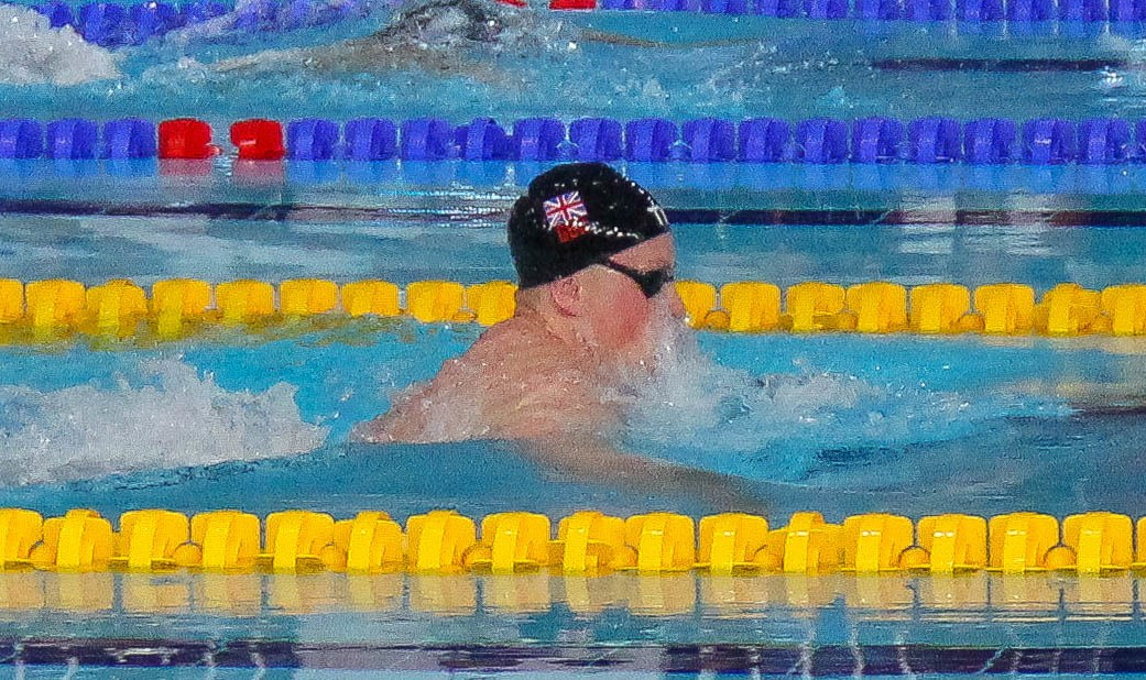 Adam Peaty Breaks Championship Record in 50 Breast Prelims