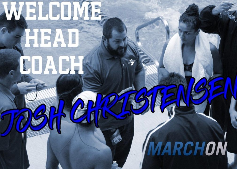 Josh Christensen Named New Head Coach at Indiana State