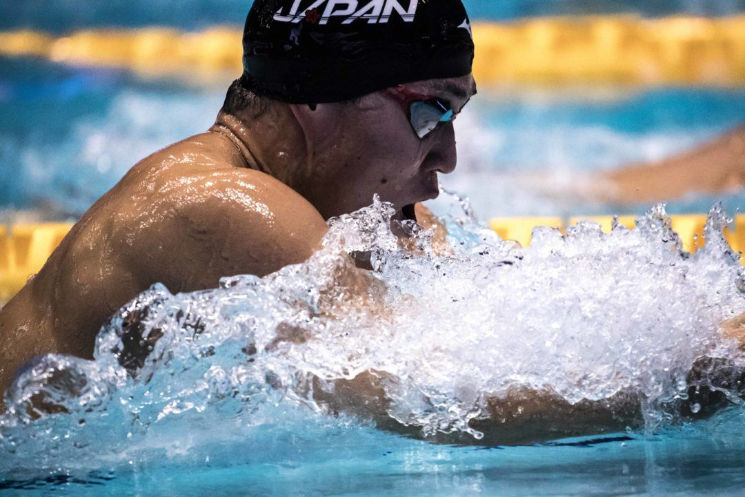 World Record Holder Ippei Watanabe Lowers Prenot's 200 BR Meet Record