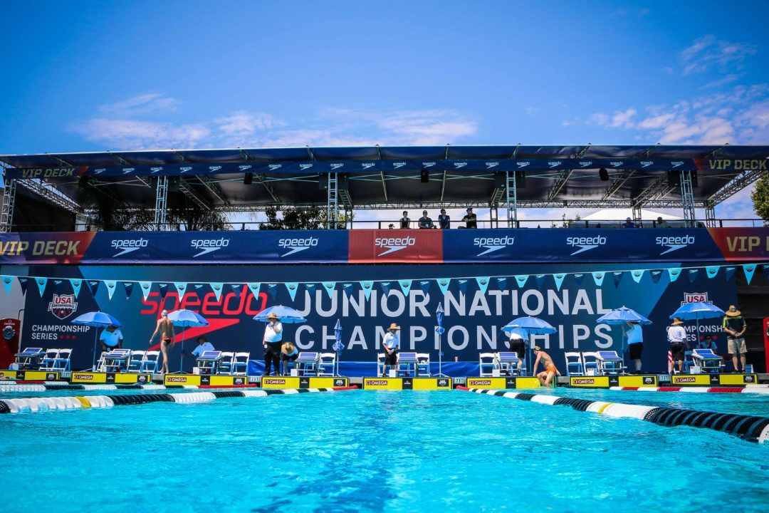 2018 Speedo Junior Nationals: Day 1 Finals Photo Vault