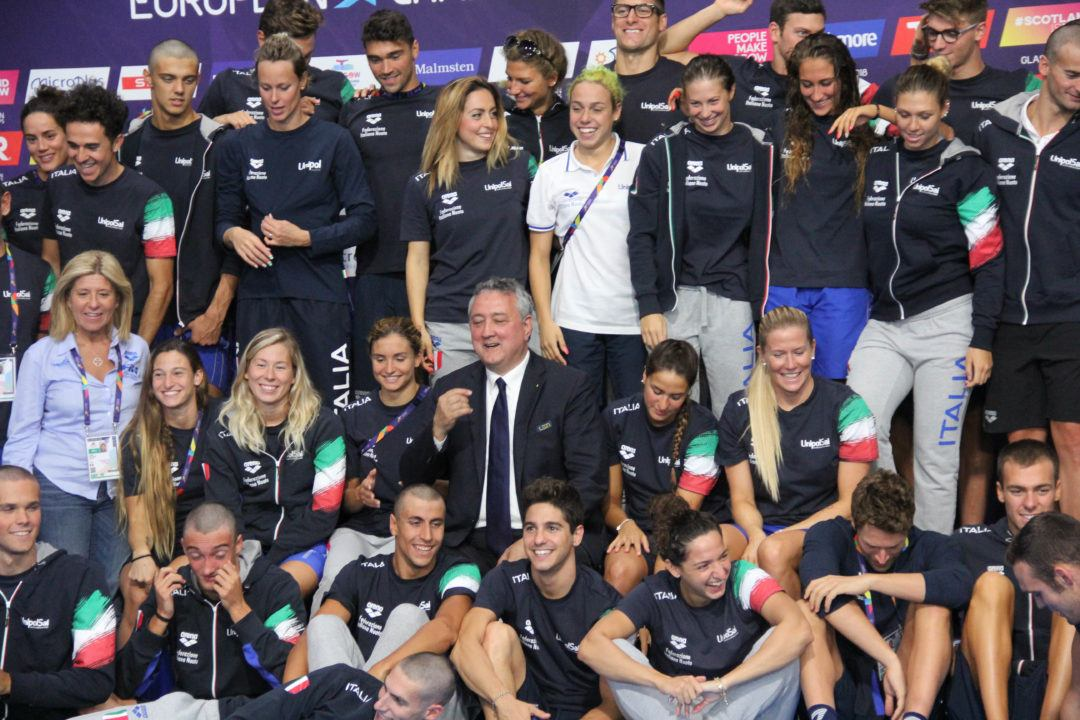 Italy Names 21 Swimmers For 2018 Short Course Championship Roster