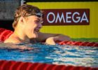 Freshman Jake Magahey Breaks Down Historic 4:06.7 500 Dual & 200 Free SEC Title