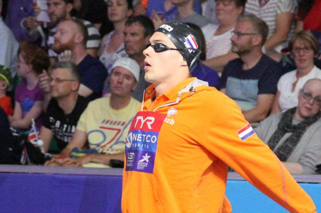 Jesse Puts Matches Supersuited Dutch 50 Fly National Record