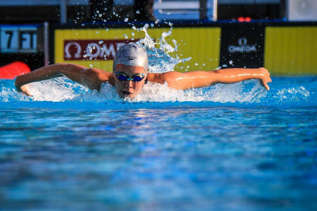 Justina Kozan Drops 100 Fly On Day 3 of Junior Nationals