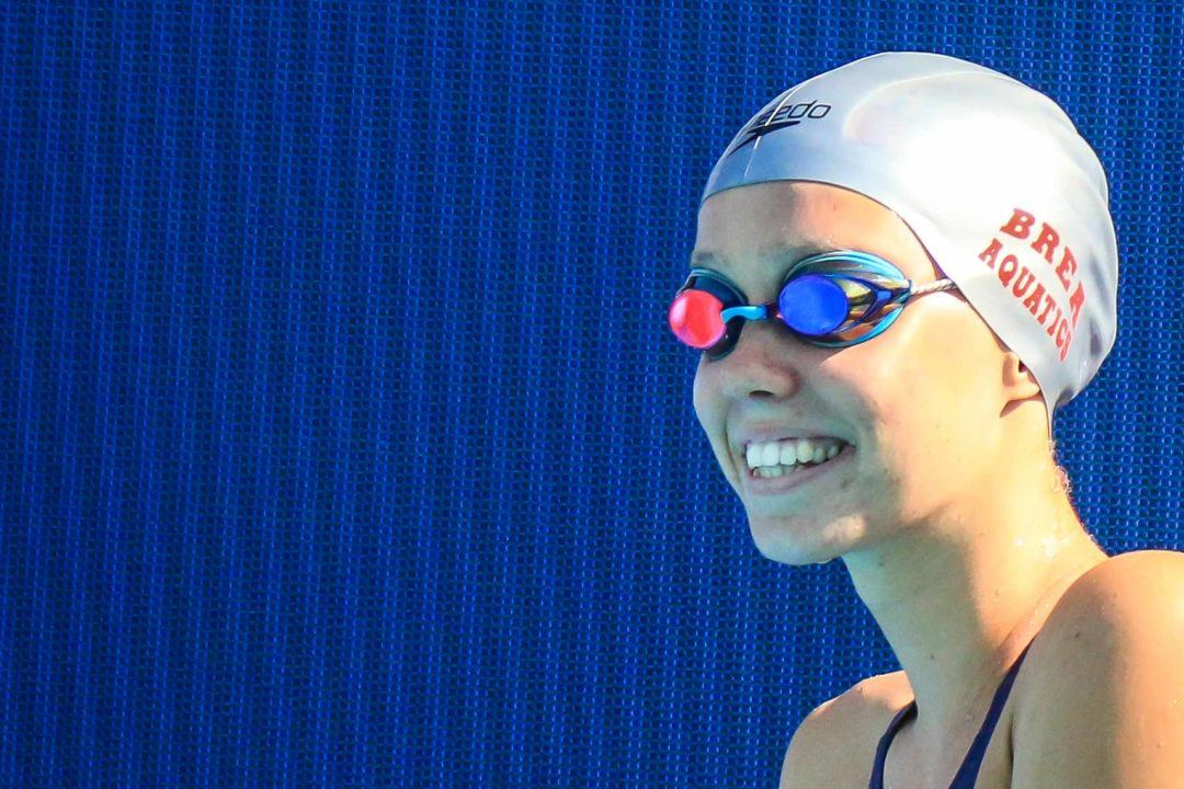 Justina Kozan Erases Sippy Woodhead LSC Record Which Had Stood 40 Yrs