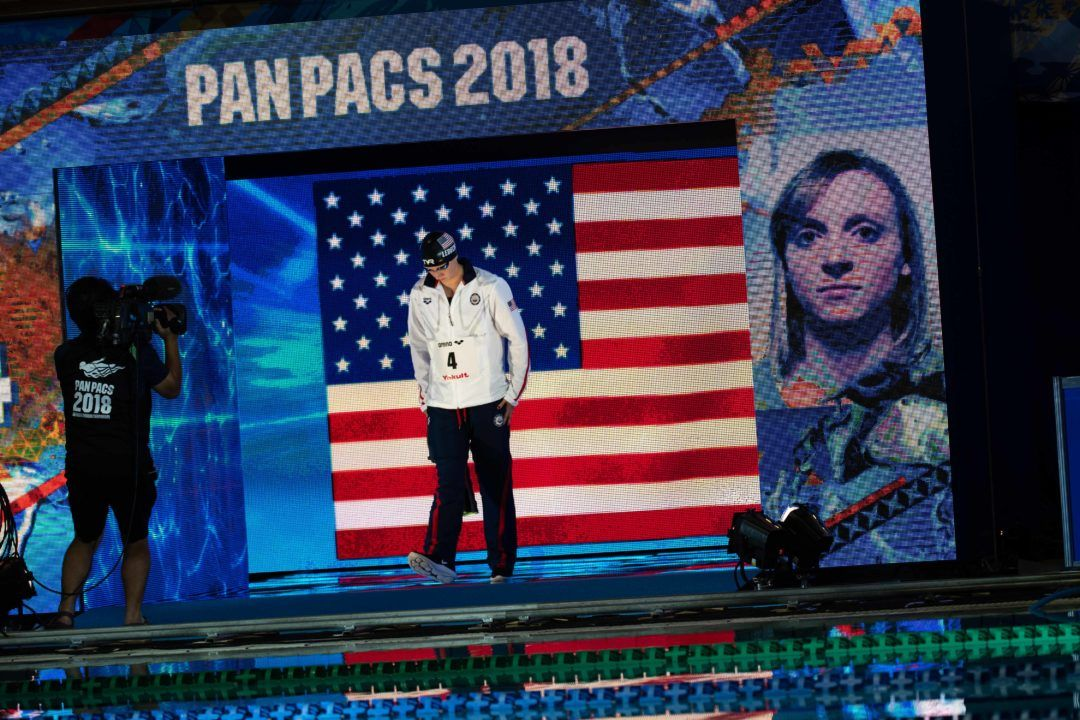 USA Takes 5 Golds, Medals Table Lead After Day 1 of Pan Pacs
