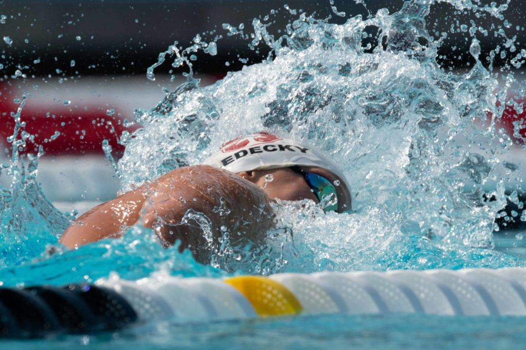 Katie Ledecky Lowers Pan Pac Record With 5th Fastest 800 Free Ever