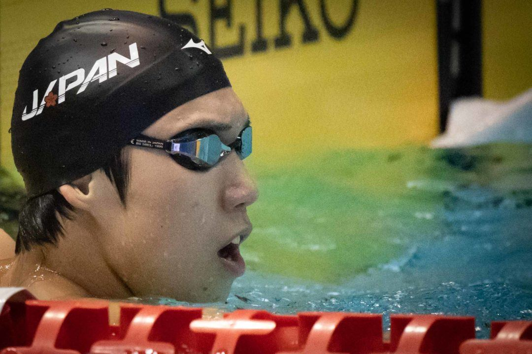 Japanese Men Snag Asian Record In 400 Free Relay