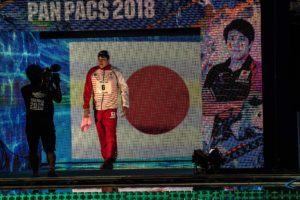 Matsumoto, medallista mundial, récord japonés en 200 libre con 1:45.13