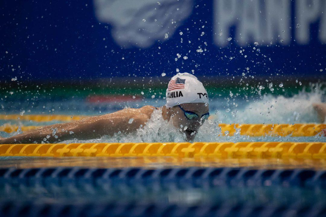 Kelsi Dahlia Shaves .01 Off American Record In Women's 50 Fly