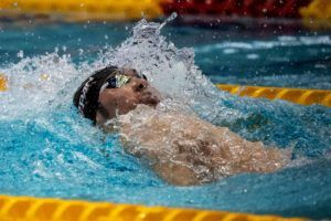 Kosuke Hagino Hits 1:55.84 200 Back; Best Time In 6+ Years