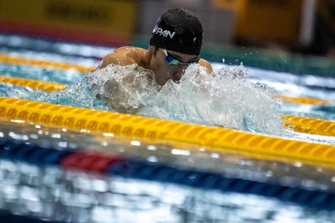 Looking At Top 5 Swims From JPN SC C'ships Through ISL Lens
